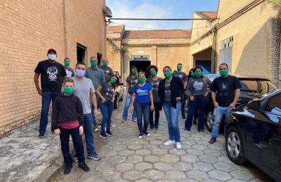 Colaboradores Da DMCard Participaram Como Voluntários Na Entrega De Cestas